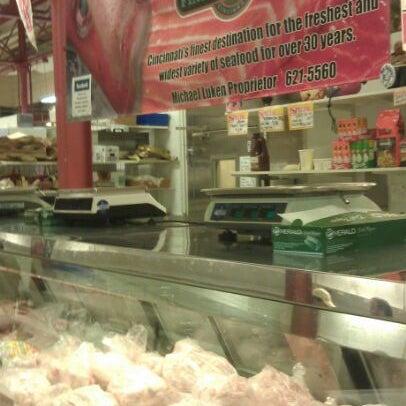 Lukens fish fish market in cincinnati for Fish market cincinnati