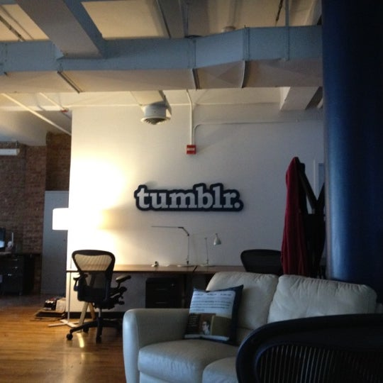 Photo taken at Tumblr HQ by Conrad R. on 4/2/2012