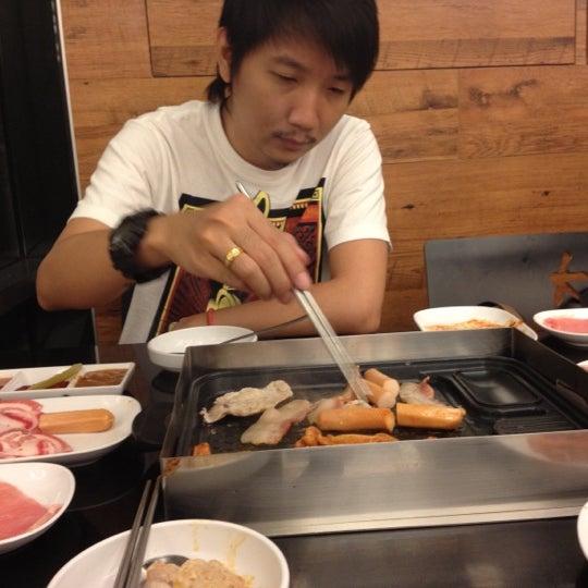 Photo taken at Kimju (คิมจู) by Aom on 9/1/2012