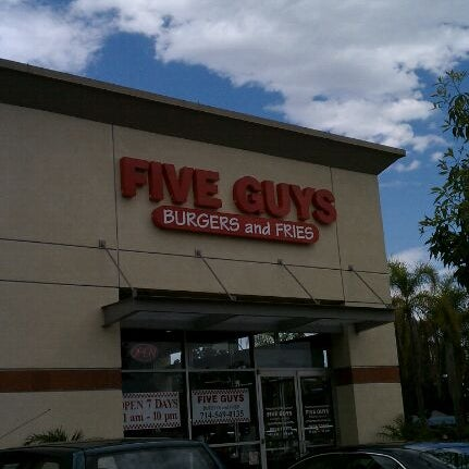 Photo taken at Five Guys by ibotch on 9/5/2011