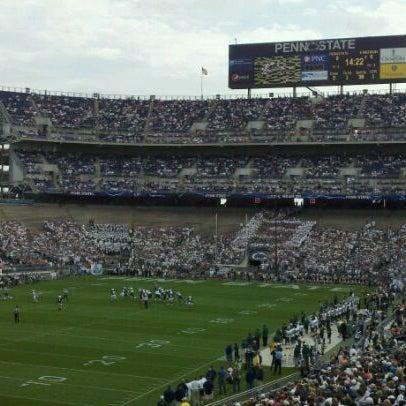 Photo taken at Beaver Stadium by Dustin D. on 9/24/2011