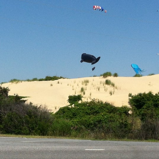 Photo taken at Jockey's Ridge State Park by Kelley J. on 6/9/2012