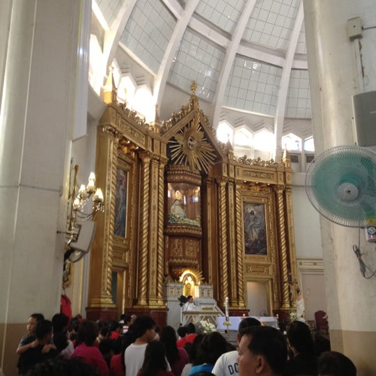 Photo taken at National Shrine of Our Lady of Peace and Good Voyage (Antipolo Cathedral) by Lee B. on 5/5/2012