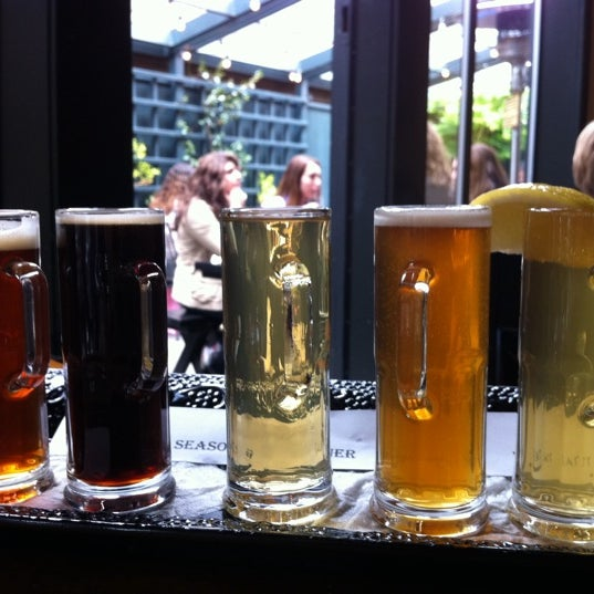 Photo taken at La Conner Brewing Company by Lika S. on 4/28/2012