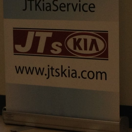 Photo taken at JT's Kia by Jeff Cruz on 7/16/2012