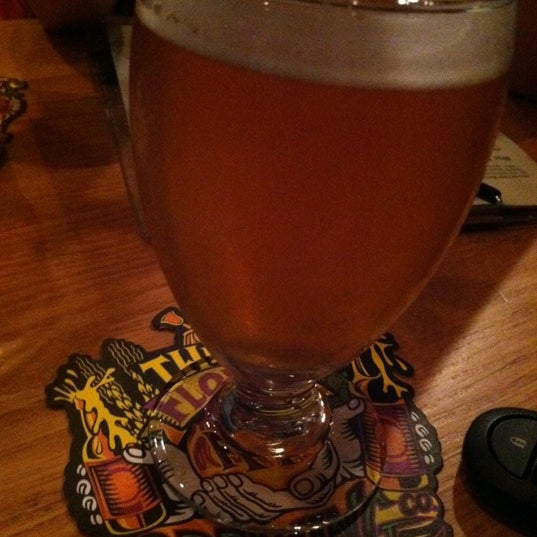 Photo taken at Three Floyds Brewery & Pub by Drew S. on 7/10/2012