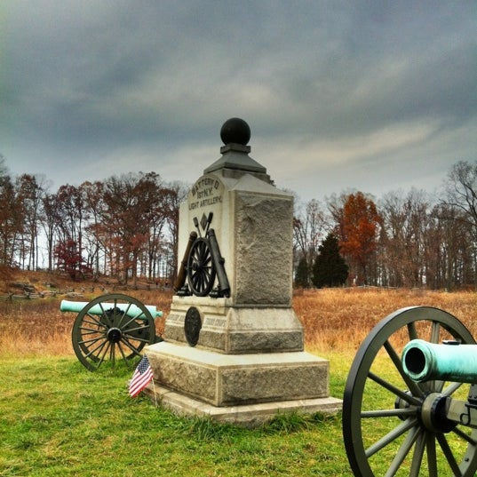 Photo taken at Wheatfield, Gettysburg Battlefield by John N. on 11/13/2011