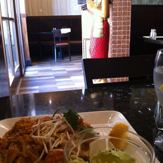Photo taken at Thai Bamboo Bistro by David M. on 3/18/2012