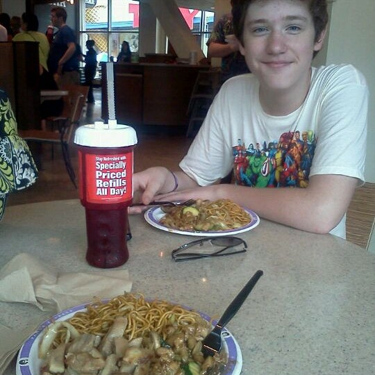Photo taken at Panda Express by Carrie B. on 9/10/2011