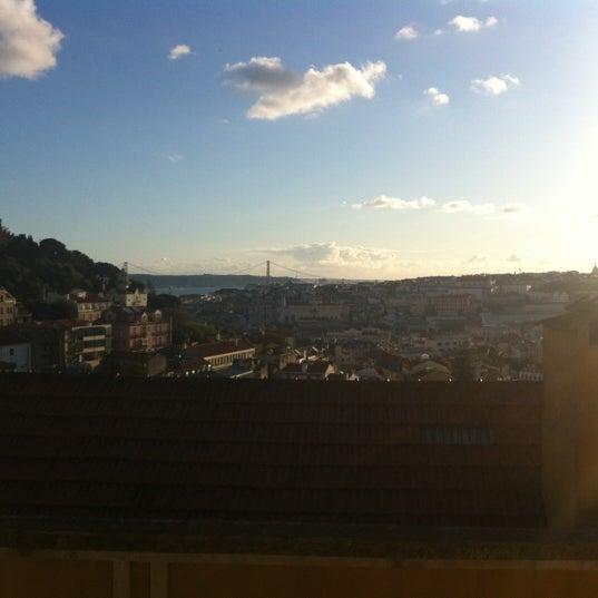 Photo taken at Miradouro da Graça by Catarina S. on 4/30/2012