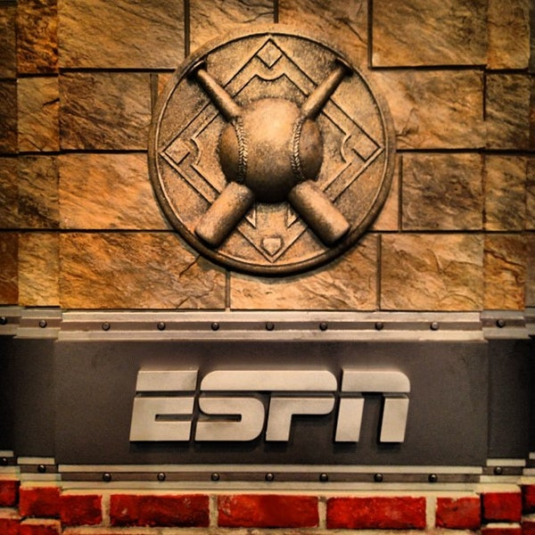 Photo taken at ESPN by Zach M. on 3/31/2012