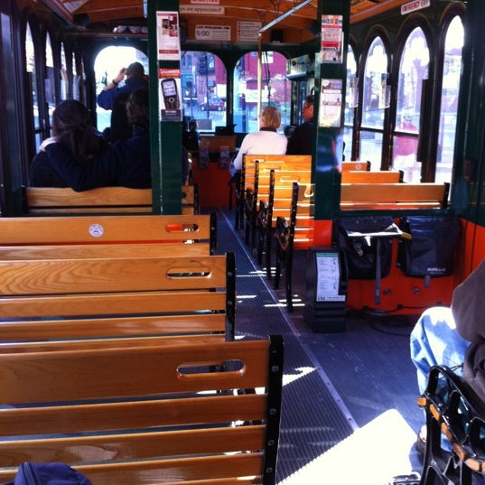 Photo taken at Old Town Trolley Tour by Crystal H. on 10/16/2011