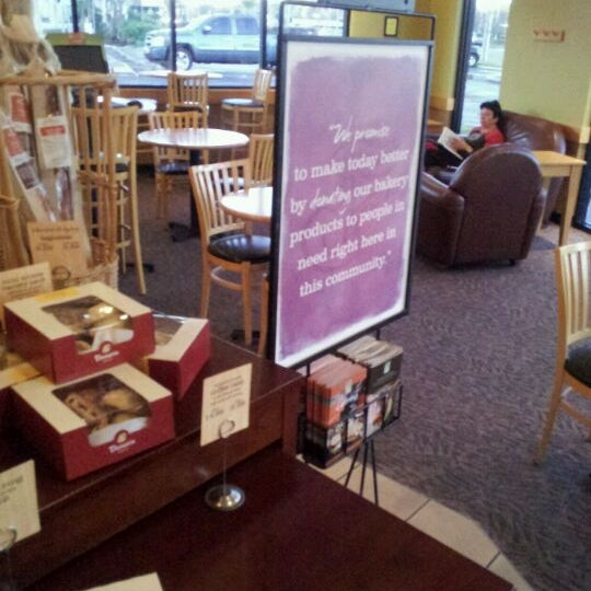 Photo taken at Panera Bread by Chuck W. on 1/19/2012