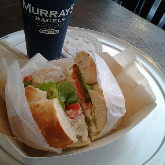 Photo taken at Murray's Bagels by Norman S. on 9/16/2011