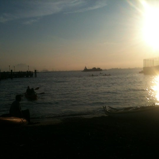 Photo taken at Louis Valentino, Jr. Park & Pier by Max S. on 6/14/2012