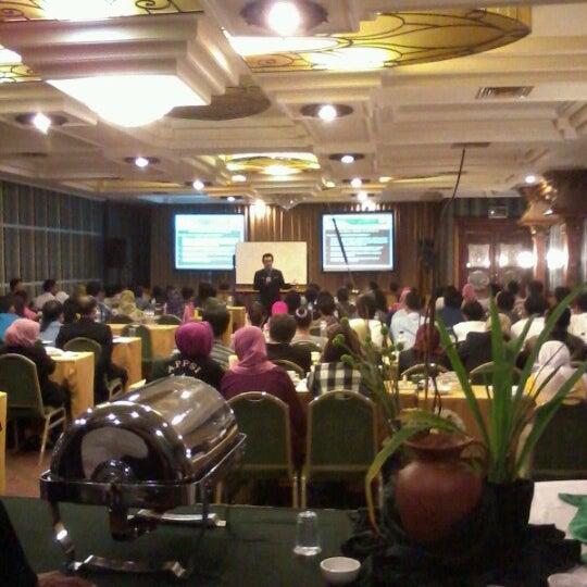 Photo taken at Hotel Gajahmada Graha by Yongky A. on 8/26/2012