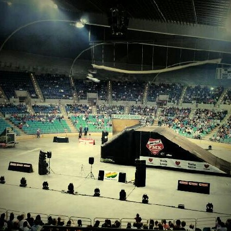 Photo taken at Palacio de los Deportes by Sergio A. on 6/9/2012
