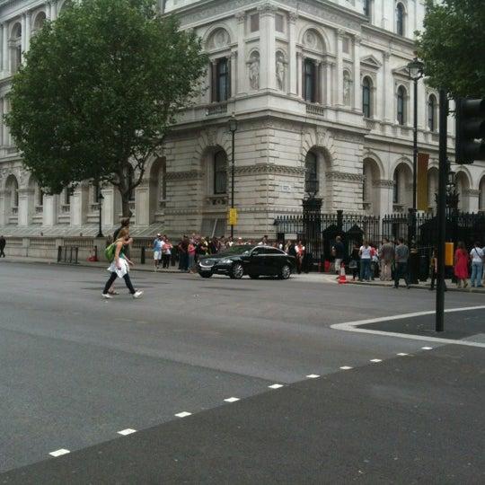 Photo taken at 10 Downing St. by Oksana O. on 7/27/2012