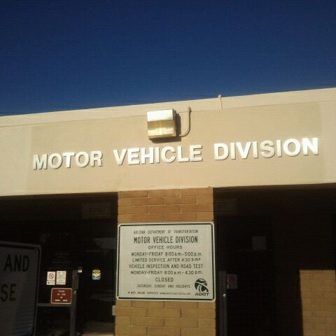 Motor vehicle division phoenix list of post apocalyptic for Az dept transportation motor vehicle division