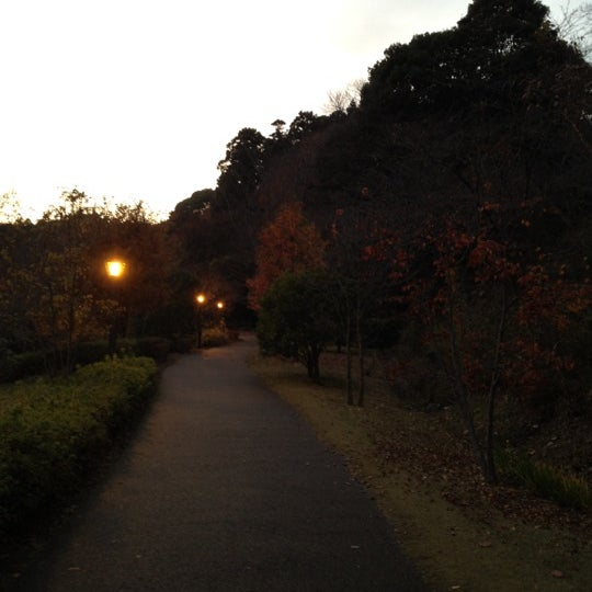 Photo taken at もみじ谷 by 綿引 一. on 12/7/2011