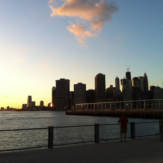 Photo taken at Brooklyn Bridge Park - Pier 6 by Brian E. on 9/5/2012