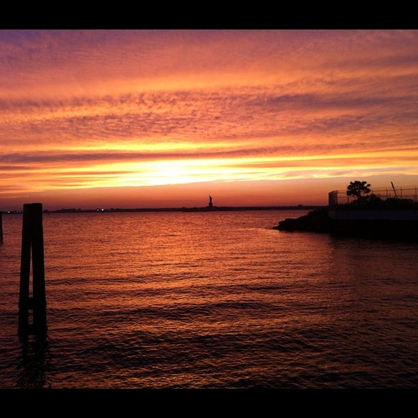 Photo taken at Louis Valentino, Jr. Park & Pier by Dave E. on 8/8/2012
