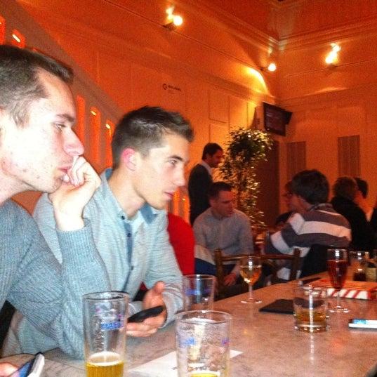 Photo taken at Vooruit Café by Pacquita B. on 1/11/2012