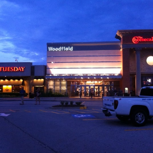 Photo taken at Woodfield Mall by Zach H. on 7/6/2011
