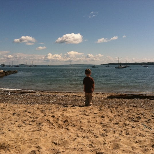 Photo taken at East End Beach by Shannon H. on 7/27/2011