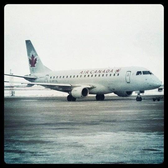 Photo taken at Saskatoon John G. Diefenbaker International Airport (YXE) by M on 1/31/2011