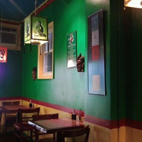 Photo taken at Cafe Tibet by Ravish M. on 9/8/2011