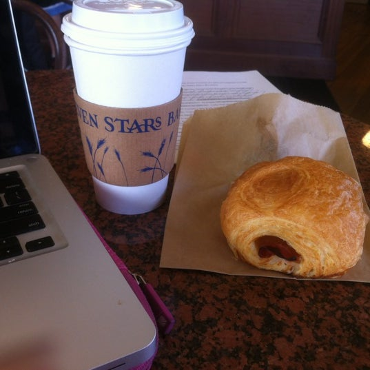 Photo taken at Seven Stars Bakery by Eating R. on 3/28/2012