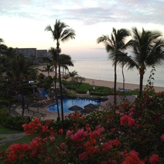 Photo taken at Sheraton Maui Resort & Spa by Meedo .. on 4/6/2012