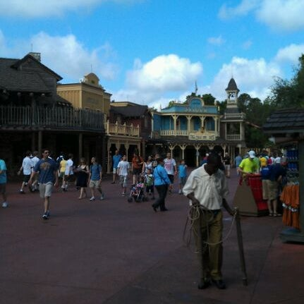 Photo taken at Frontierland by Phil H. on 4/20/2012