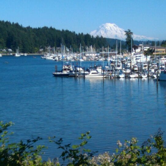 Photo taken at Gig Harbor Waterfront by Cecilia T. on 1/19/2012