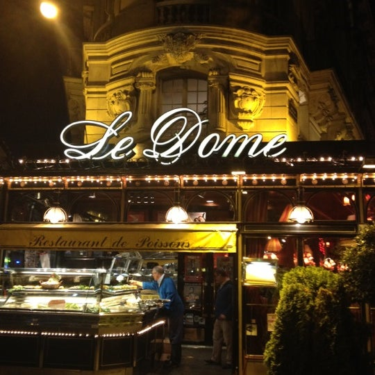 Photo taken at Le Bistrot du Dôme by Jackie G. on 9/11/2012