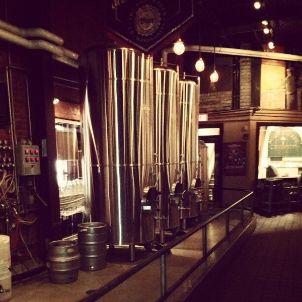 Photo taken at Bethlehem Brew Works by Scott S. on 4/28/2012