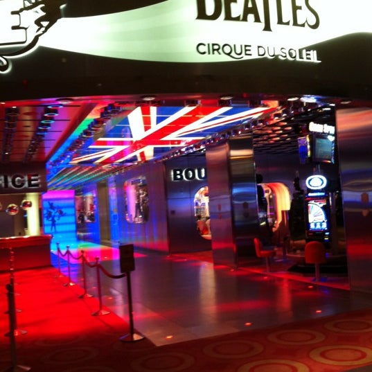 Photo taken at The Beatles LOVE (Cirque Du Soleil) by Lauryn C. on 6/15/2012