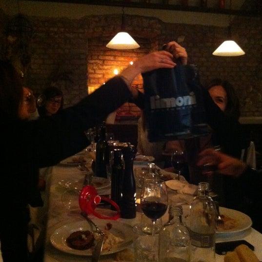 Photo taken at Osteria del Sognatore by Mattia T. on 3/14/2012