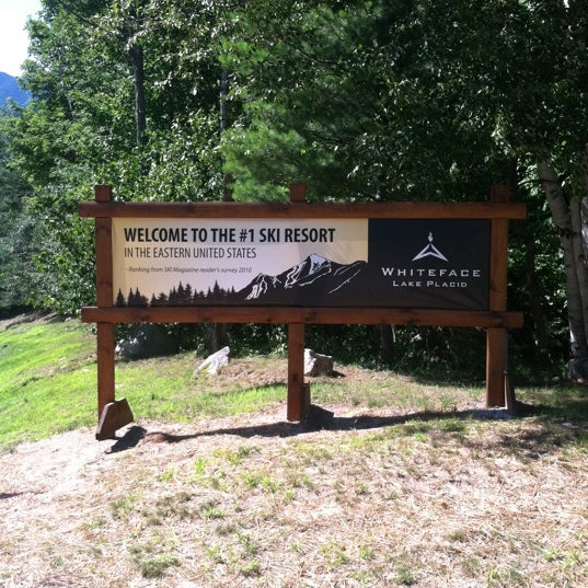 Photo taken at Whiteface Mountain by Michelle S. on 7/23/2011