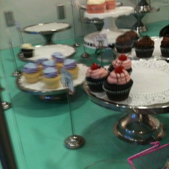 Photo taken at Sift Cupcake & Dessert Bar by Katie C. on 3/23/2011