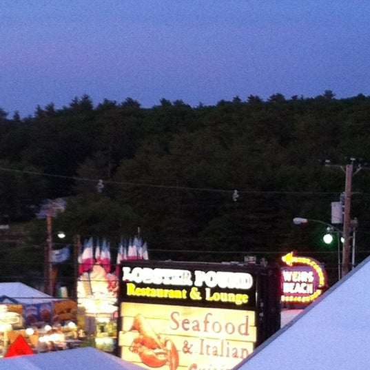 Photo taken at Weirs Beach Lobster Pound by Ryan D. on 6/11/2012