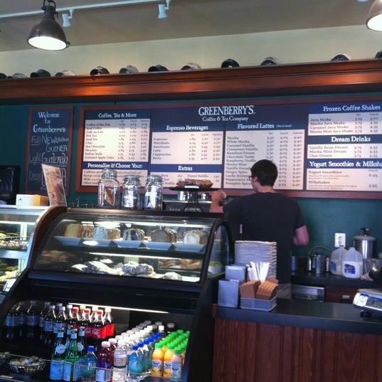 Photo taken at Greenberry's Coffee & Tea by Antonio F. on 4/17/2011