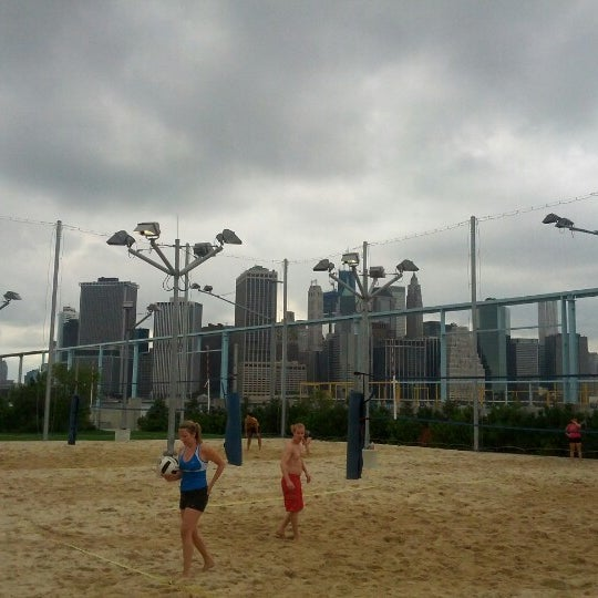 Photo taken at Brooklyn Bridge Park - Pier 6 by James W. on 7/29/2012
