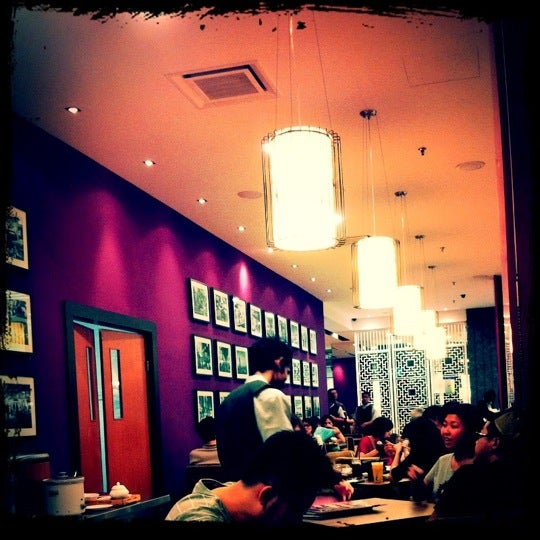 Photo taken at Xian Ding Wei Taiwanese Tea Room by Jeremy O. on 4/24/2011
