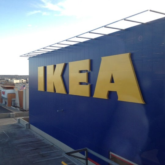 Photo taken at IKEA Centennial by Christopher A. on 3/15/2012