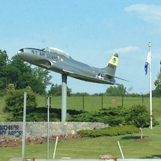 Photo taken at Westchester County Airport (HPN) by Christine H. on 6/8/2012