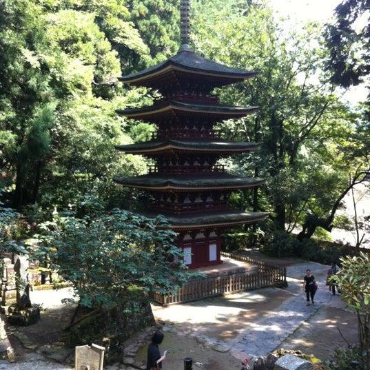 Photo taken at 室生寺 by HIROSHI K. on 9/4/2012