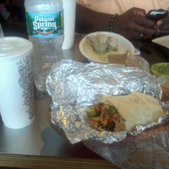 "Photo taken at Chipotle Mexican Grill by Geshawn ""Lou"" W. on 7/21/2012"