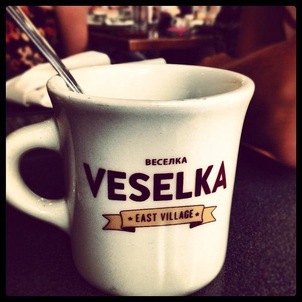 Photo taken at Veselka by Lexie K. on 8/25/2012